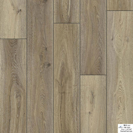LVT Flooring 1220*180*2-5mm(Dry Back/Loose Lay/Click System) (Customized)(CDW2421)