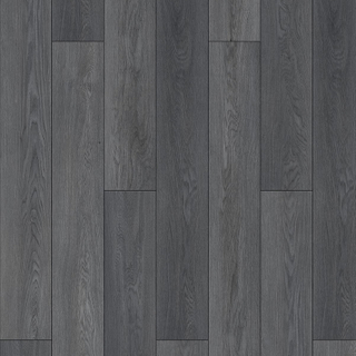 Dark Grey Oak SPC Flooring 4.35/0.55mm/6/0.5mm*1mm IXPE Pad*Unilin Click For UK Market (LM8065-007)